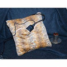 Подушка-грелка полосатая