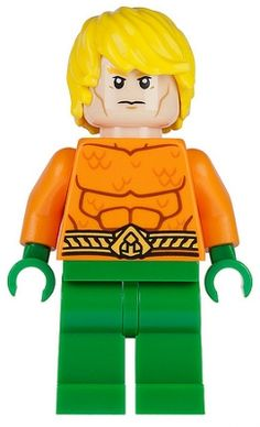 NEW LEGO DC Bright Yellow Orange Printed Torso Minifig 3F