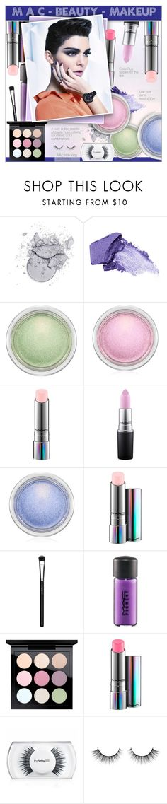 """""""M A C    -   Beauty   -   Makeup"""" by alves-nogueira ❤ liked on Polyvore featuring beauty, NARS Cosmetics, MAC Cosmetics and Fendi"""