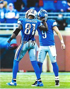 Calvin Johnson Detroit Lions Photographs