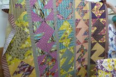 Could be an S quilt - From Material Obsession