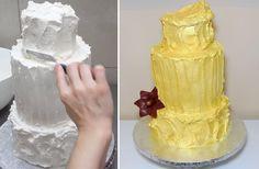 ICING A CAKE - CakesStepbyStep