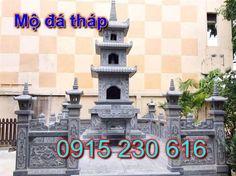 Mộ tháp đá - Xây mộ tháp Phật giáo đẹp bằng đá - Mộ tháp đẹp
