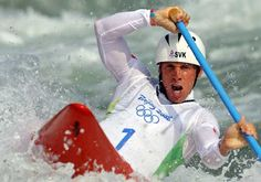 Photos: Slovakia's Michal Martikan wins Men's Slalom Canoe Single gold