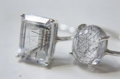 ABOUT THIS ITEM:  A simple sterling silver ring set with a cabochon…