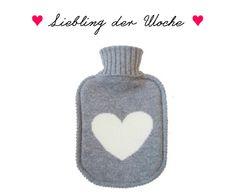 Draussen ist es kalt - wir machen's uns gemütlich mit der cashemere-kuschel-weichen Wärmflasche von Ginger & Ruby! http://www.auryn-naturfashion.com