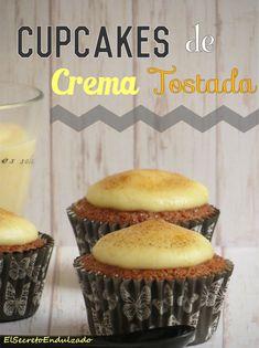 Cupcakes de Crema Tostada - elsecretoendulzado.blogspot.com.es