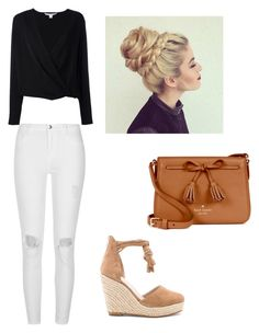 """Untitled #473"" by dream3lov3 ❤ liked on Polyvore featuring Raye, River Island, Diane Von Furstenberg and Kate Spade"