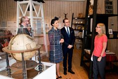 Princess Victoria and Prince Daniel attended the festivities in honor of the 1000 years of the Diocese of Skara.