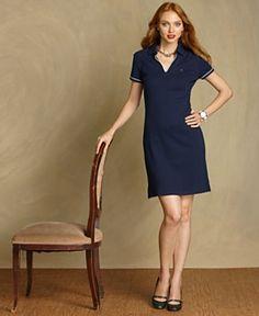 Tommy Hilfiger Dress, Emma Short-Sleeve Shirtdress