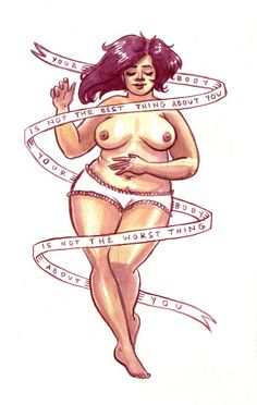 Want more positive body image inspo in your life? Tired of being told you're not good enough by the media? Check out these safe spaces that welcome everybody, no matter their size, shape, colour, gender or sexual preference: www.facebook.com/positivebodyimage89 www.positivebodyimageinspiration.tumblr.com