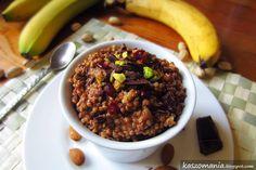 Kaszomania - pomysły na dania z kaszy jaglanej: Kasza jaglana z bananem i kakao