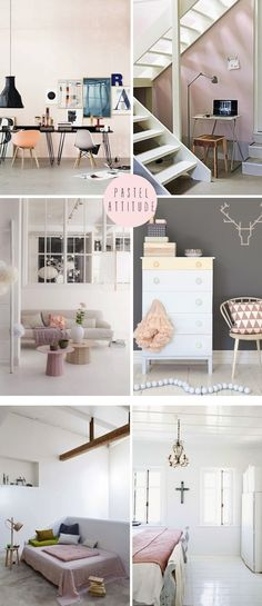 French By Design: Pastel attitude rooms Room Interior, Home Interior Design, Interior Styling, Interior Decorating, Living Etc, Home And Living, Living Spaces, Modern French Interiors, Beautiful Interiors