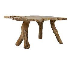 Mesa de centro en madera de teca Nita - natural