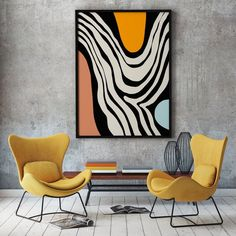 "Acquire excellent tips on ""abstract art paintings acrylics"". They are actually readily available for you on our internet site. Mid Century Art, Office Wall Art, Diy Canvas Art, Large Wall Art, Painting Inspiration, Modern Art, Art Projects, Illustration, Original Art"