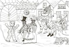 masopust omalovánky - Hledat Googlem Winter Art, Colouring Pages, Children, Masky, Creative, Color, Spring, Quote Coloring Pages, Colour