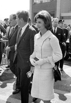 JFK and Jackie.