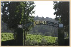 Francis Ford Coppola Winery Napa Valley California