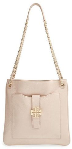 84be72bf744d Tory Burch Leather Light Oak Plaque Swingback Crossbody Bag Purse New Fall  2014  ToryBurch