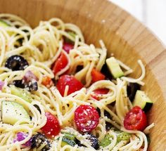 California Spaghetti Salad - We compiled a list of 67 of the best pasta salad recipes around the web.   Savorystyle.com