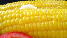 There's no need to husk and silk an ear of corn when you use this quick method for microwaving a whole ear of unhusked corn and just squeezing it out of the husk.