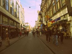 BUSY STREETS OF AMSTERDAM!