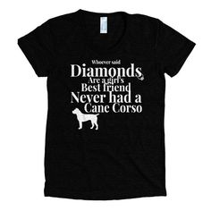Diamonds are nice and all... but they can't compare to the love from a Cane Corso. View Sizing Chart