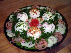 Güzel Salata Resimleri Food And Drink, Eggs, Pasta, Breakfast, Advent, Morning Coffee, Egg, Egg As Food, Pasta Recipes