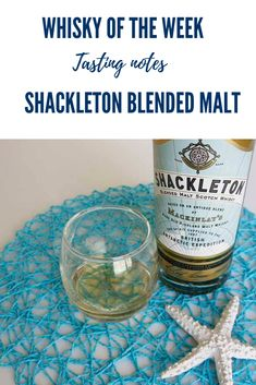 Review and tasting notes for the Shackleton Blended Malt Whisky White Oak Barrels, Whisky Tasting, Malt Whisky, Bourbon, Water Bottle, Notes, Bourbon Whiskey, Single Malt Whisky, Report Cards