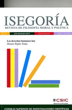 Isegoría. Revista de filosofía moral y política nº 51 (2014)