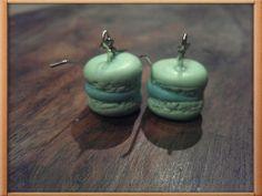 Mini - macaron earrings DIY by Tamara :) fimo / polymer clay