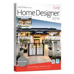 Chief Architect Home Designer Professional 2016 Software