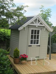 Lodge Garden Shed Garden Sheds Ireland, Dublin, Lodges, Pavilion, Yard, Outdoor Structures, Patio, Gallery, Ideas