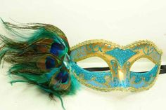 Venetian Mask with Skyblue Feather Masquerade Mardi Gras Mask Jewel Best Deal Ever http://www.amazon.com/dp/B00CZT9UF0/ref=cm_sw_r_pi_dp_IV1Ttb1M6JY0KYZX