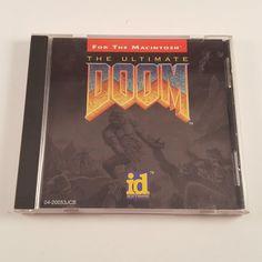 Doom for Mac Computer Game Ultimate Doom Apple Macintosh id Software - FREE SHIP