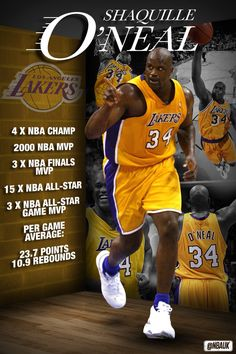 Shaquille O'Neal - LA Lakers
