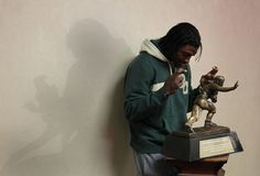 my dream last night caame true (a third anyways but the most important part of it!) HEISMAN!