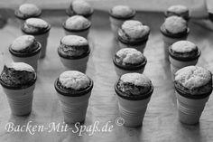 Muffins im Waffelbecher - Rezept