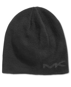 b246b3143ce Michael Kors Men s Reversible Logo Beanie Michael Kors Men