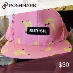 New Pink Unisex Banana Snapback New Pink Unisex Banana Snapback Urban Outfitters Accessories Hats