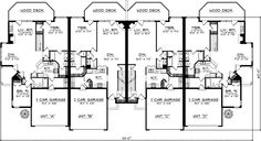 Planes casa de estilo tradicional - 6014 pies cuadrados de construcción Home, de 2 pisos, 8 dormitorios y 8 3 cuartos de baño, 8 Cochera puestos por planes de vivienda del monstruo - Plan de 7-841