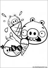 Desenhos do Angry Birds para colorir