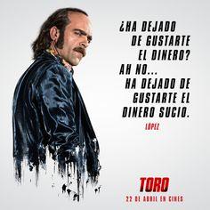 """Luis Tosar es López: """"¿Ha dejado de gustarte el dinero? Ah no..."""
