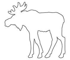 36 szarvas sablon és transzfer minta | PaGi Decoplage Moose Silhouette, Animal Silhouette, String Crafts, String Art, Applique Patterns, Applique Quilts, Animal Outline, Dremel Carving, Animal Templates
