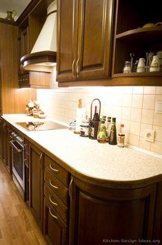 Kitchen Idea Of The Day Deliciously Dark Walnut Colored Kitchens Espresso