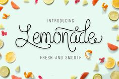Lemonade (35% off) by Graptail on @creativemarket