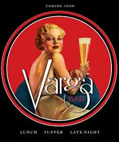 Varga Bar opens: Philadelphias pin-up inspired watering hole! - Philadelphia restaurant | Examiner.com