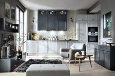 Black Red White - Senso Kitchens - Capital 43rd Luvak Avenue   #brw #blackredwhite #kitchen #kitcheninspiration #kitchendesign #inspiration #home #homedecor #cooking #trend #grey #classic