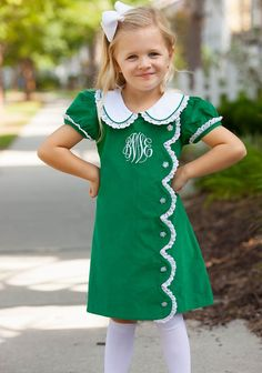 Kelly Scallop Dress