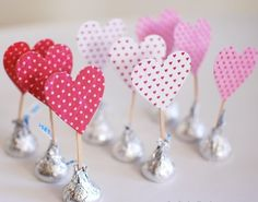 Simple Homemade St`Valentines day craft1